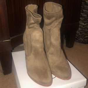 Aldo Taupe ankle booties